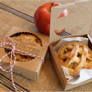Op zoek naar een huwelijksbedankje voor jullie bruiloft? Mini appeltatartje bij Groen Trouwen!
