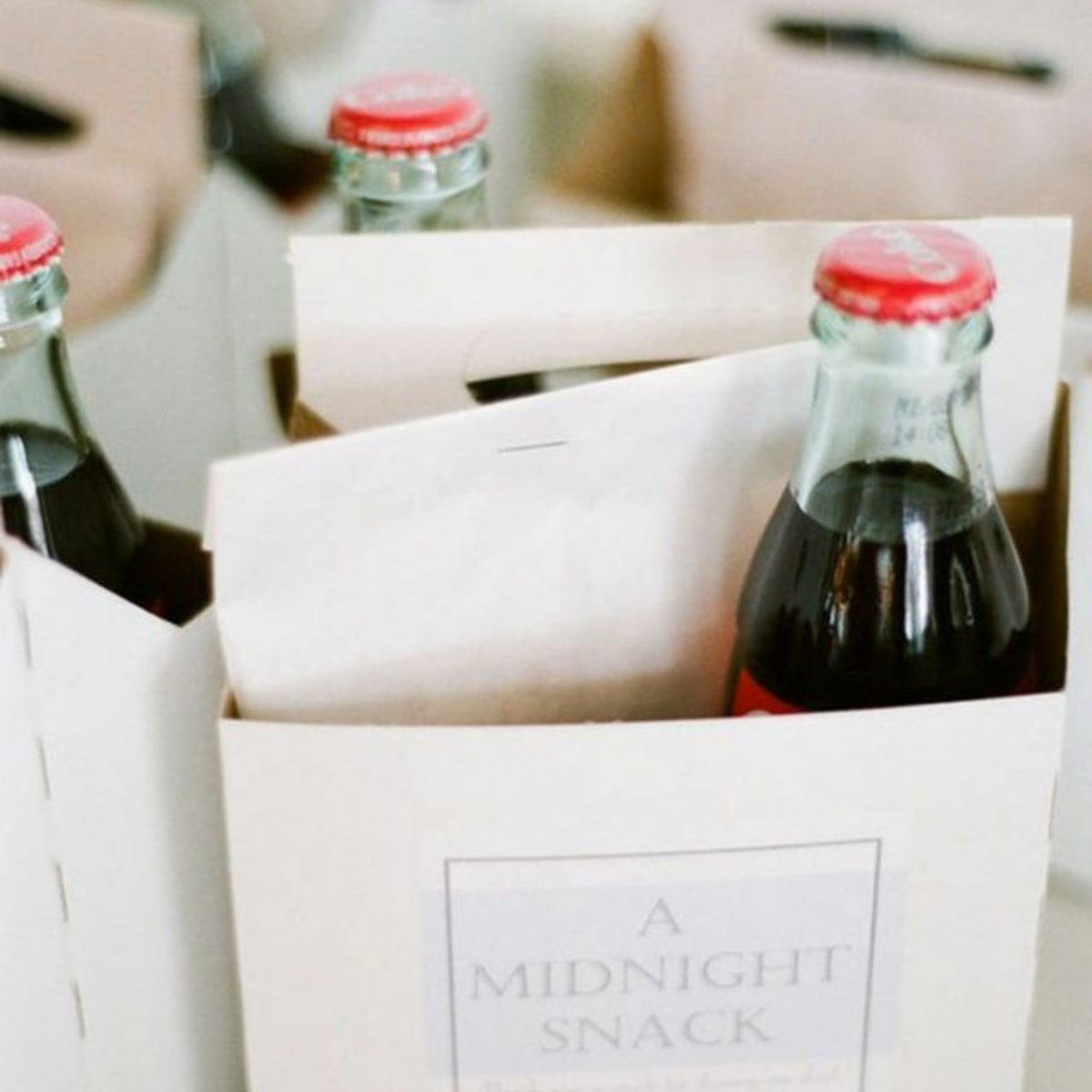 Op zoek naar een huwelijksbedankje voor jullie bruiloft? Midnight snack bij Groen Trouwen!