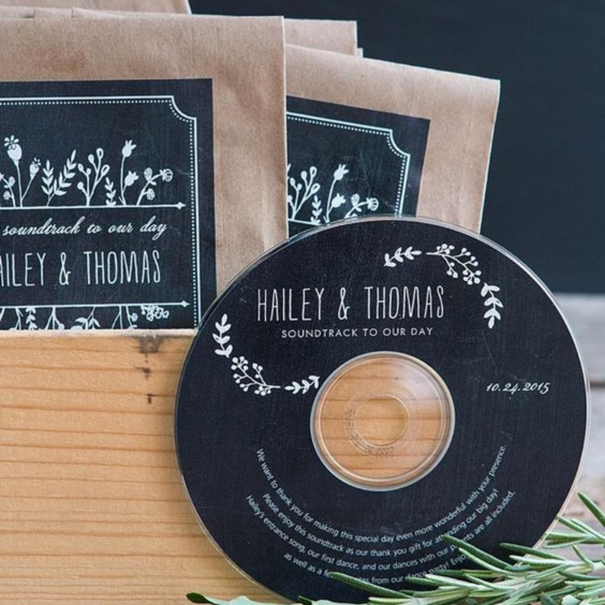 Op zoek naar een huwelijksbedankje voor jullie bruiloft? Lievelings muziek bij Groen Trouwen!