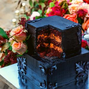 Keuze stress bij het uitzoeken van een bruidstaart? Ga voor een Black pie bij Groen Trouwen!