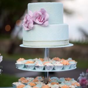 Keuze stress bij het uitzoeken van een bruidstaart? Ga voor een taart met cupcakes bij Groen Trouwen!