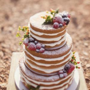 Keuze stress bij het uitzoeken van een bruidstaart? Ga voor een Naked cake bij Groen Trouwen!