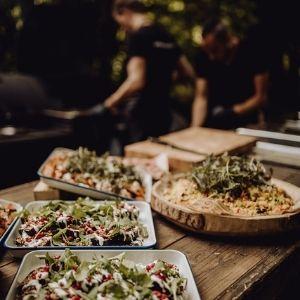 Welk eten serveer je op je bruiloft? Wedding BBQ bij Groen Trouwen!