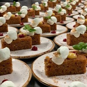 Welk eten serveer je op je bruiloft? Walking dinner bij Groen Trouwen!