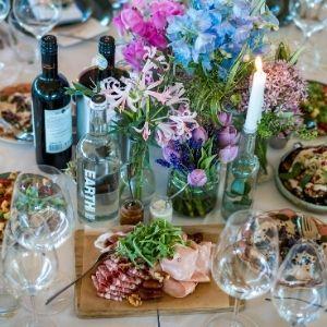 Welk eten serveer je op je bruiloft? Shared dinner bij Groen Trouwen!